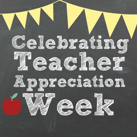 5 Inspirational Ideas for Teacher Appreciation Week