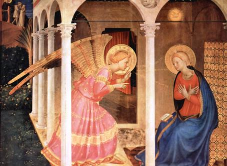 The Annunciation and Saint Gabriel