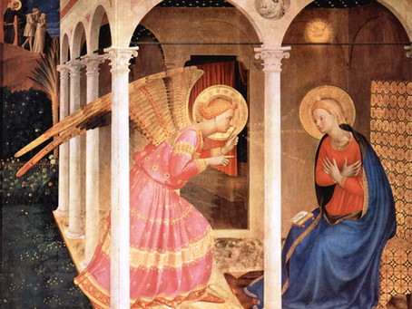 The Annunciation and Saint Gabriel