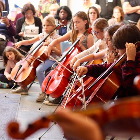 Waldorf School Wins Grants to Fund Stringed Instrument Program