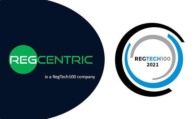 Press Release: RegCentric named a RegTech100 company