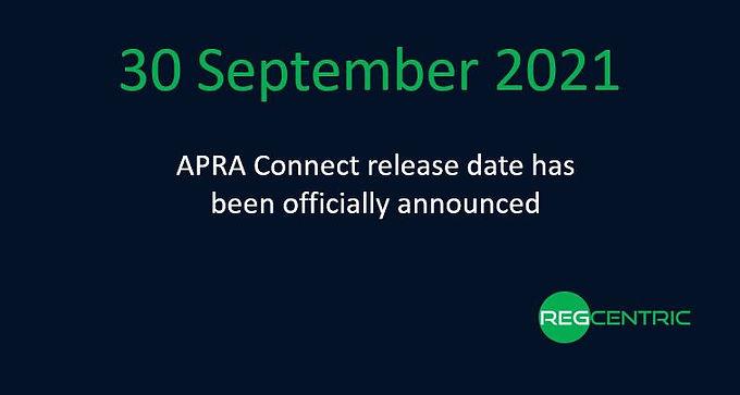 APRA announces APRA Connect go live date