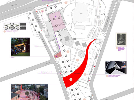 Projeto Expográfico I Urban Art Factory I Ocupação Baixo Augusta + Praça Roosevelt