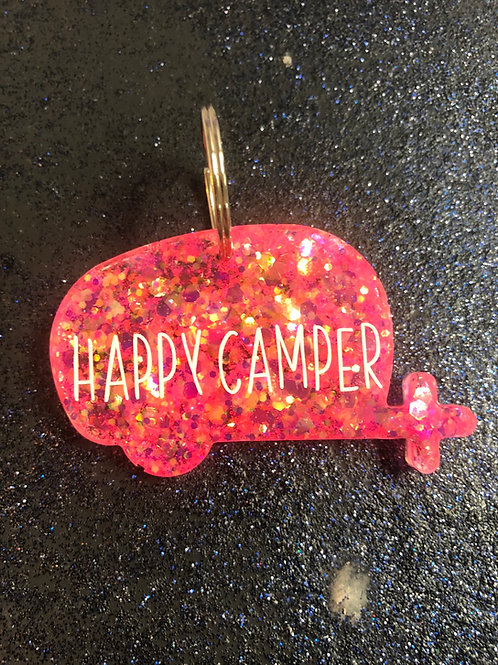 Custom Camper Keychain