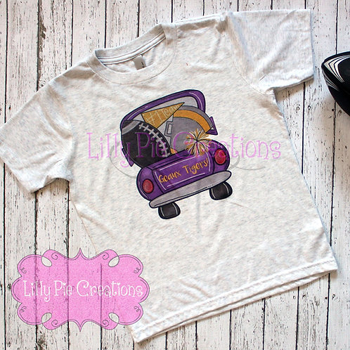Youth Geaux Tigers Tee