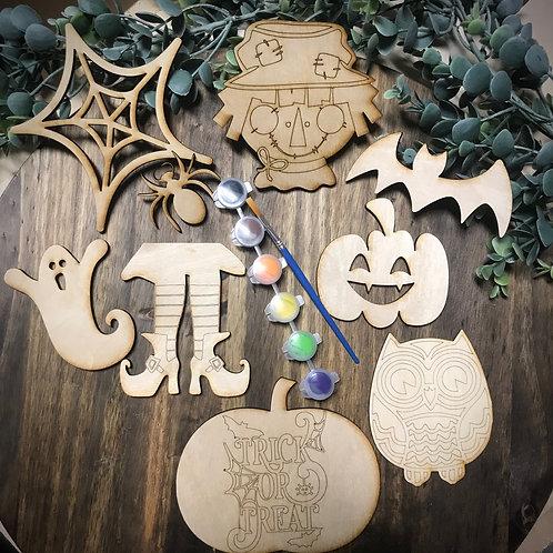 Halloween Shapes Kid Craft Kit