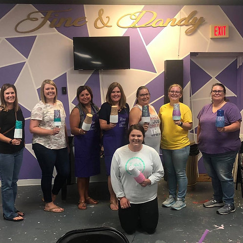 Glitter Your Cup Class