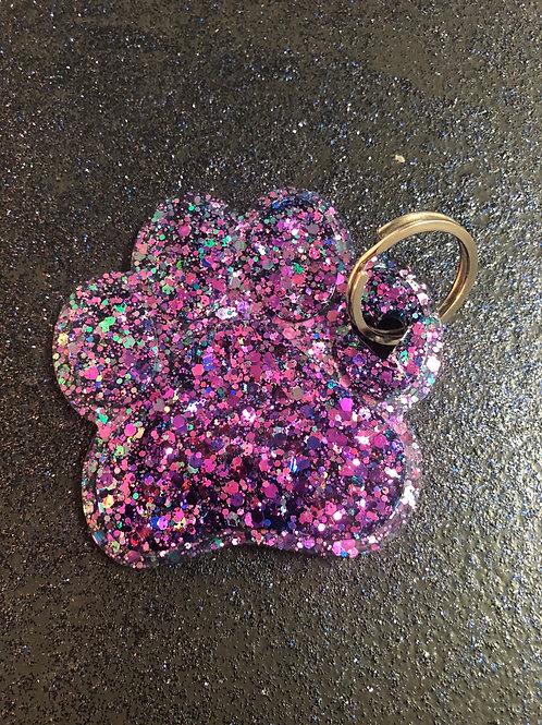 Custom Paw Keychain