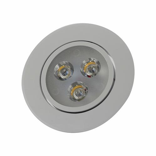 SPOT LED  EMBUTIR COB 3W