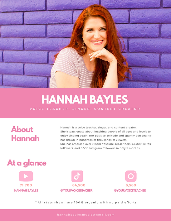 Copy of Hannah Bayles - MEDIA KIT 2020.p