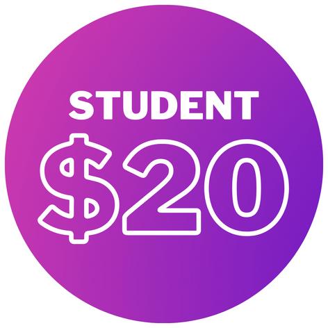 Student - $20