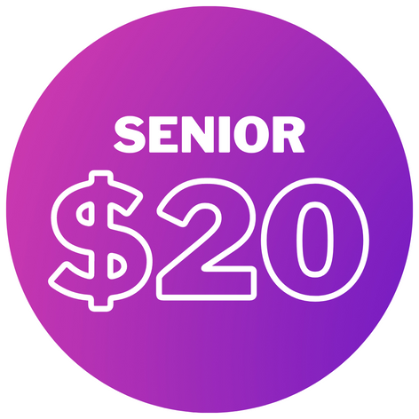Senior - $20