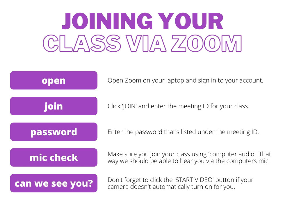 JOIN YOUR CLASS