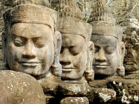At Angkor Wat - 2013