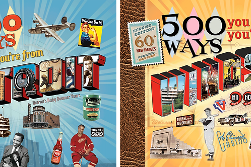 Detroit-Windsor Book Bundle