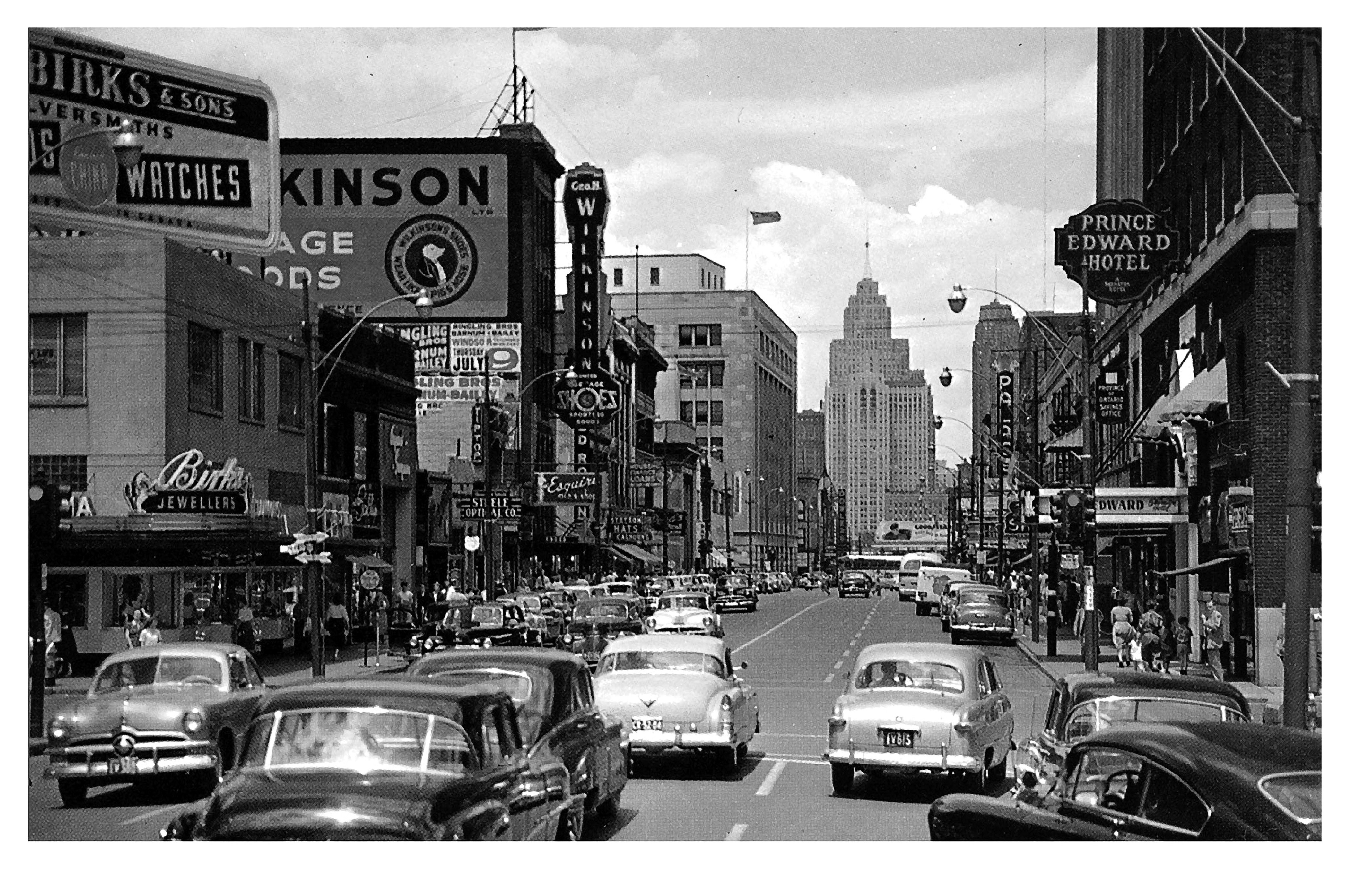 Downtown 1950s