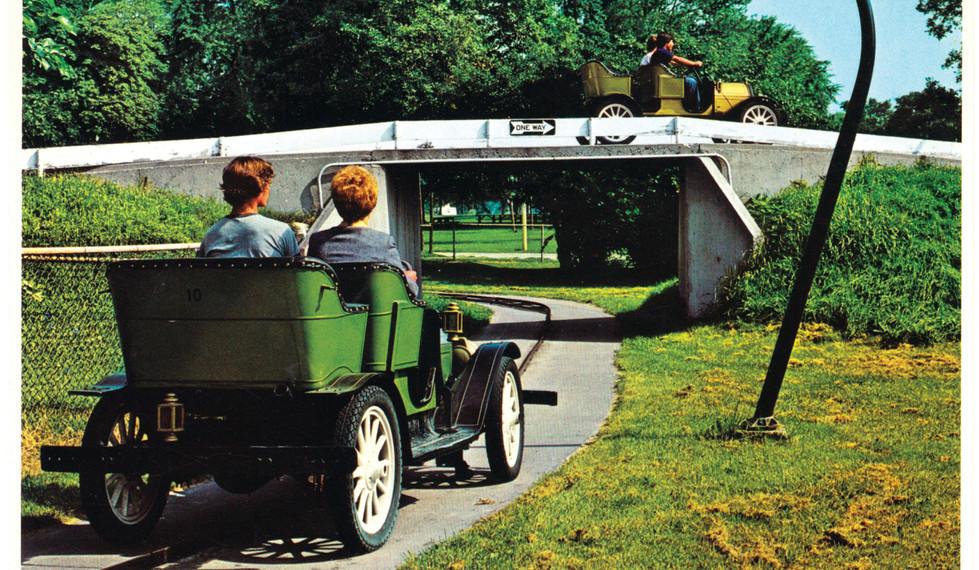 Antique Car Ride