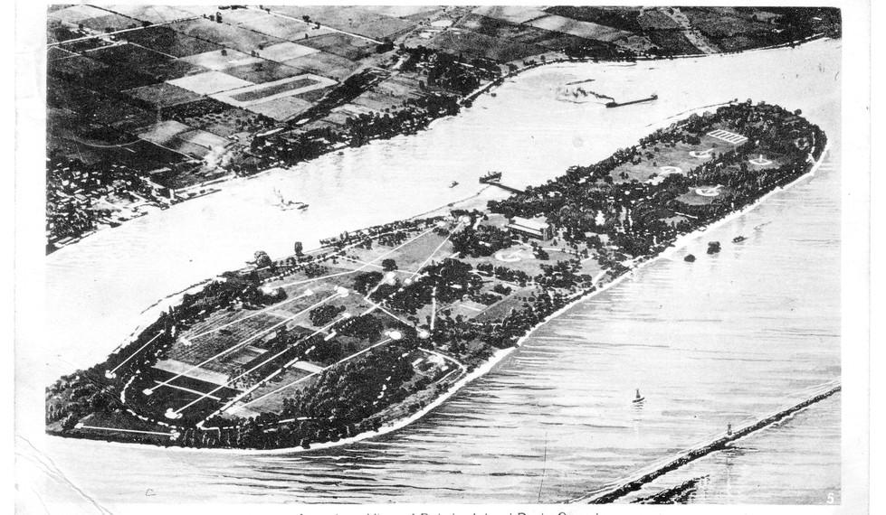 Aerial View Bob-Lo Island