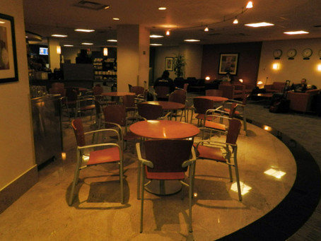 """Cathay Pacific Lounge- The Pier- """"Less Than the 1%"""" (2012)"""