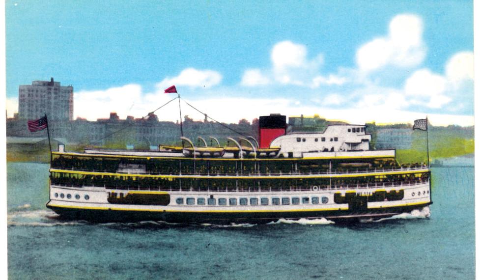 SS Ste Claire en route