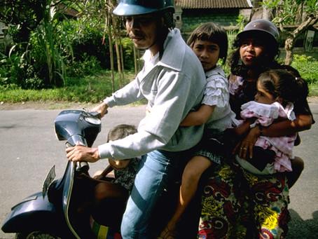 MotorBike Riding in Bali: 2012