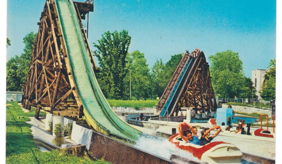 """Splash Ride """"Log Flume"""""""