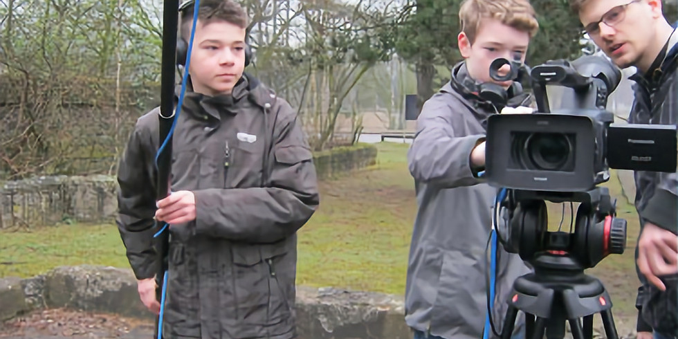 Posnimi svoj prvi film - osnovnoškolska grupa