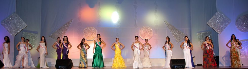 Miss US Latina Pageant Evening Gowns