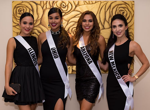 Miss U.S. Latina Delegates