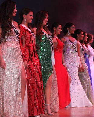 Miss Latina Evening Gowns Group