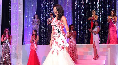 Miss Rhode Island Latina Evening Gown