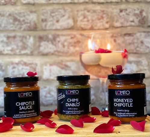 Spicy 3 Sauce Valentine's Special