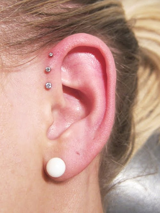 Trippel forward helix