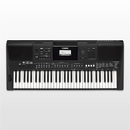 Yamaha PSR E 463 Portable Keyboard With Power Adapter