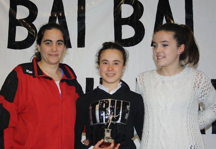 "LEIRE, jugadora destacada del equipo Infantil Femenino Urdaibai ""A"""