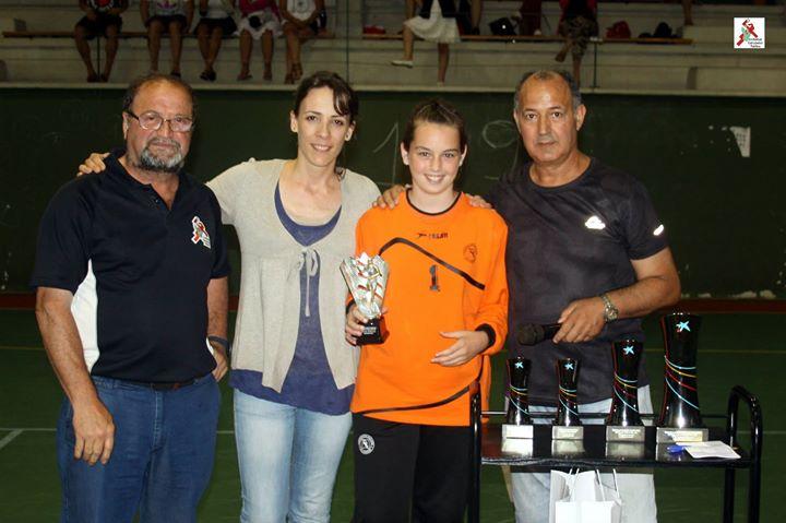 Portera destacada del torneo:  Aitana Cordón de la selección navarra