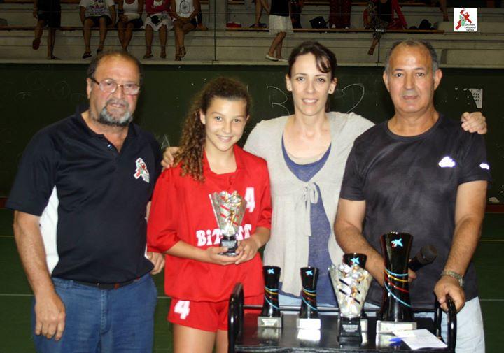 Jugadora destacada del torneo: Alba Herrero de la selección Bizkaina