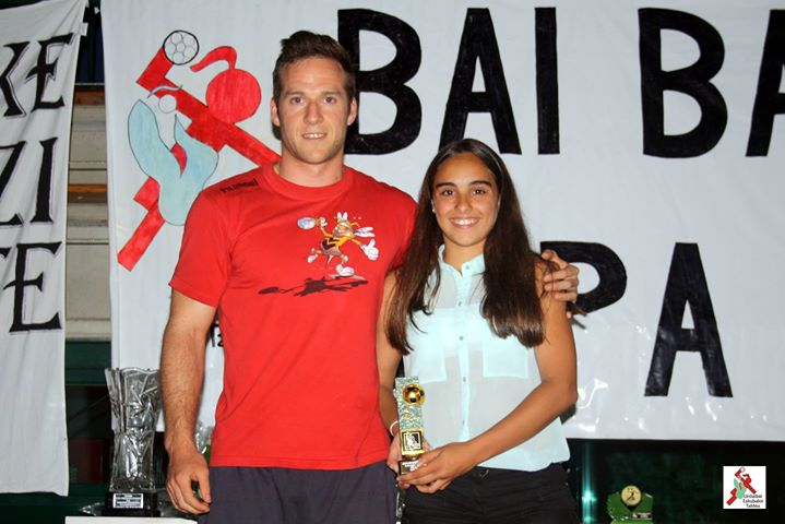 Jugadora destacada del Urdaibai Gorria: IRAIA LONGARAY