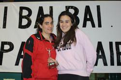 LEIRE, jugadora destacada del equipo Cadete Femenino