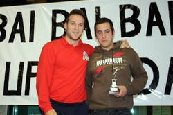 SERGIO, jugador destacado del equipo Juvenil Masculino