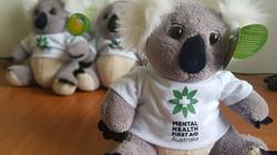 ALGEE our Mental Health First Aid mascot