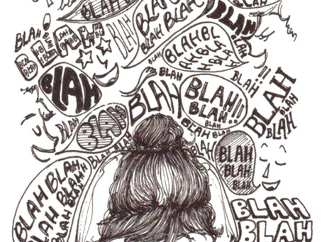 Anxiety, that little self-judgemental voice! - 5 top tips from a counsellor.