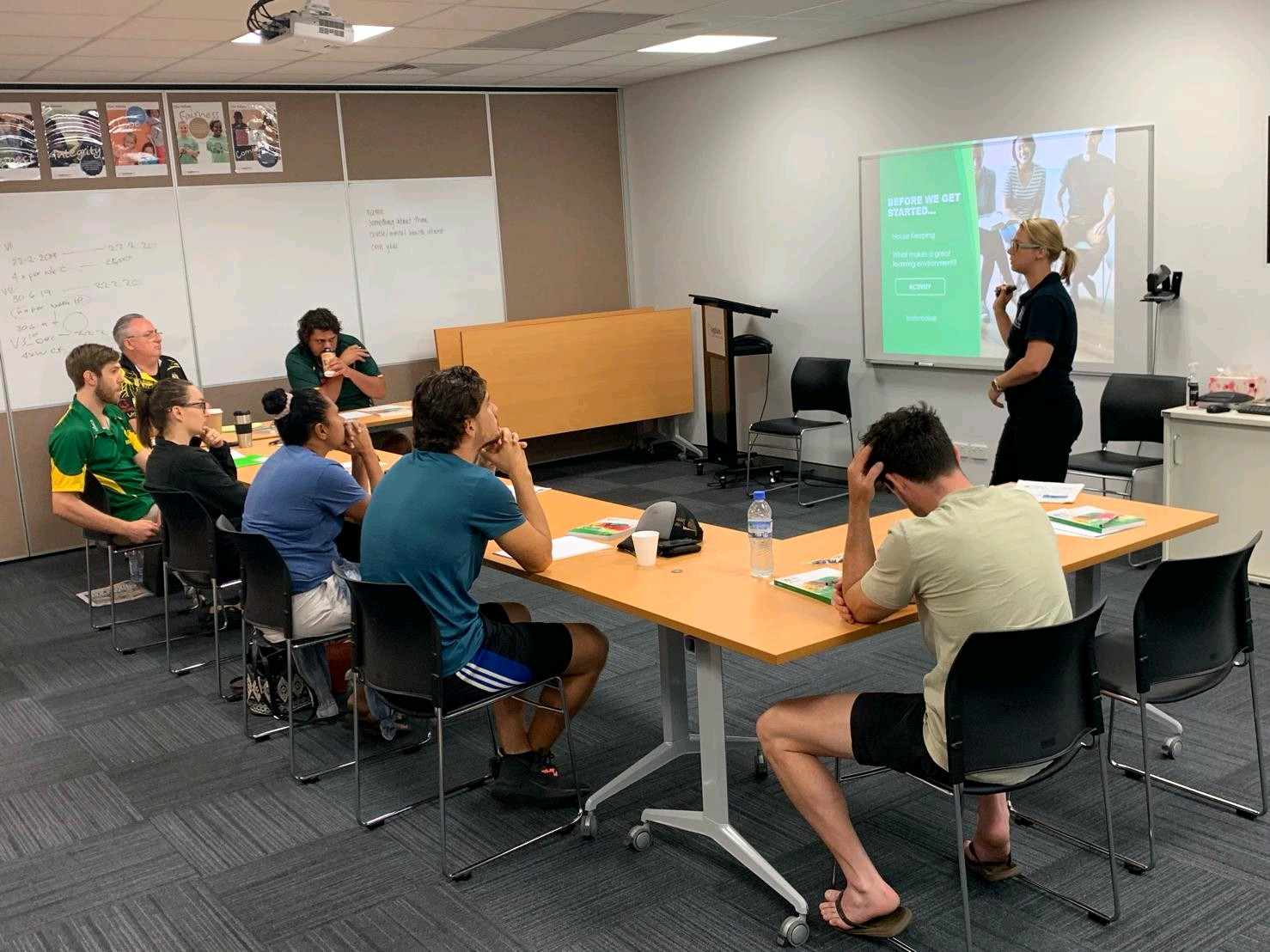 Standard Mental Health First Aid course as a part of the Headspace and AFLNT Well-being Champions
