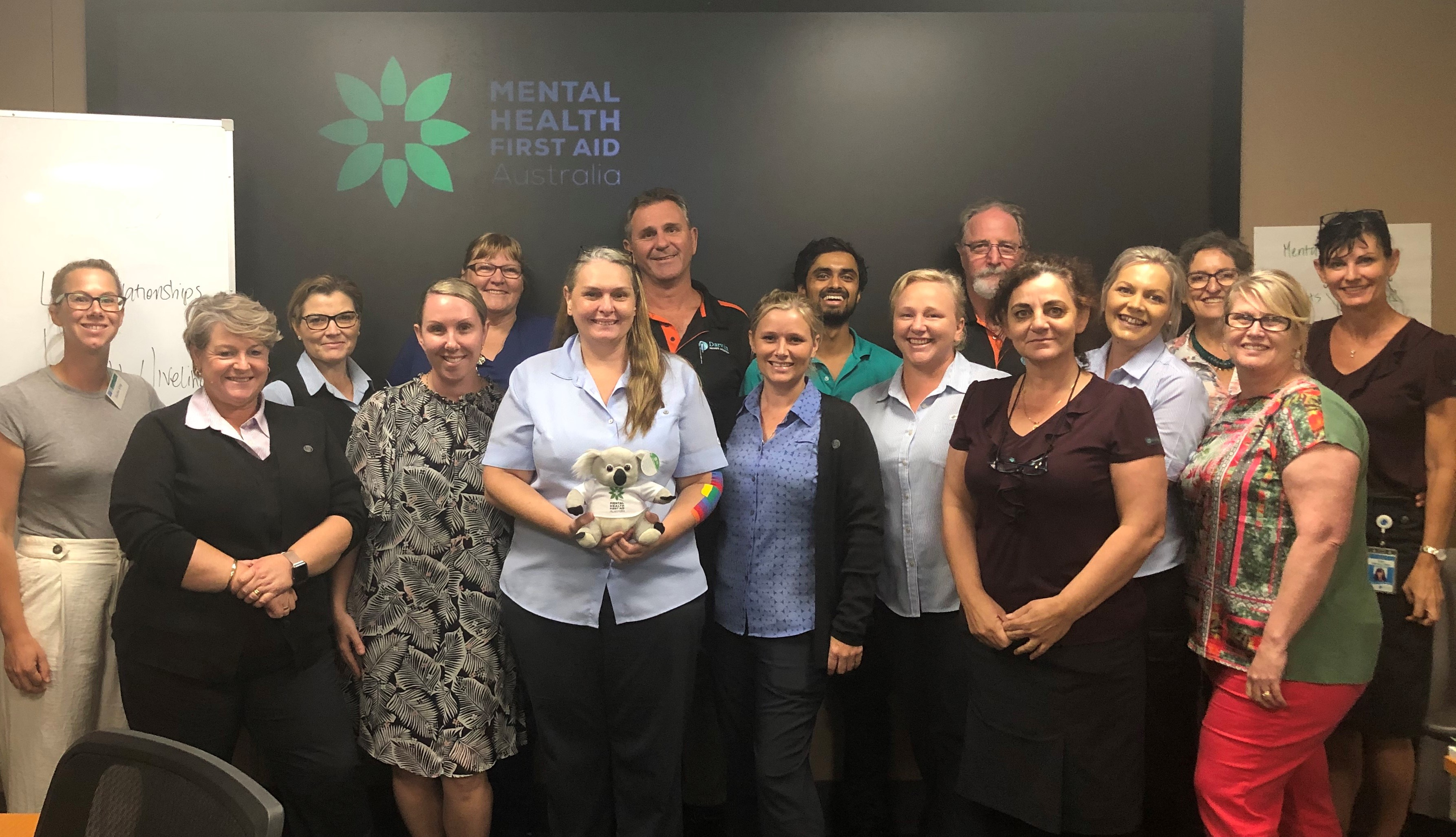 Mental Health Fist Aid at Darwin Private