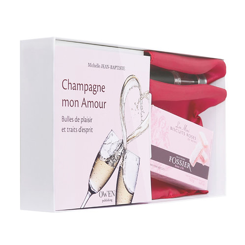 Coffret Champagne mon Amour