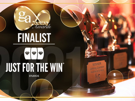 JUST FOR THE WIN IS AMONG THE FINALISTS OF IGA