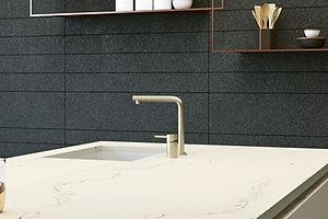 Quartz Vanity Tops with Sink