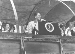 Ronald Reagan at SantaCaliGon