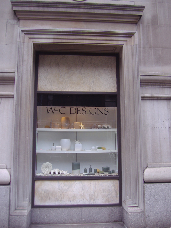WC Designs Bath Showroom Window