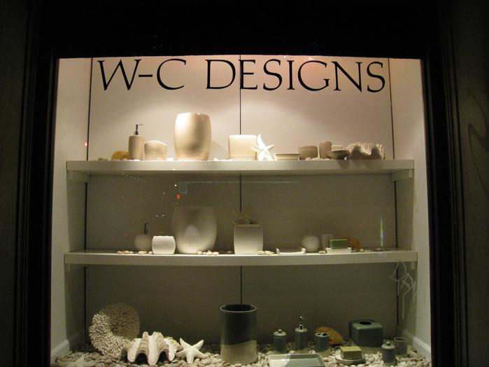 WC Designs Bath Show Window